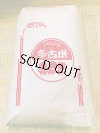 平成29年産 特別栽培米コシヒカリ多古米(精米)30kg